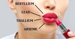 Chemicals in lipstick