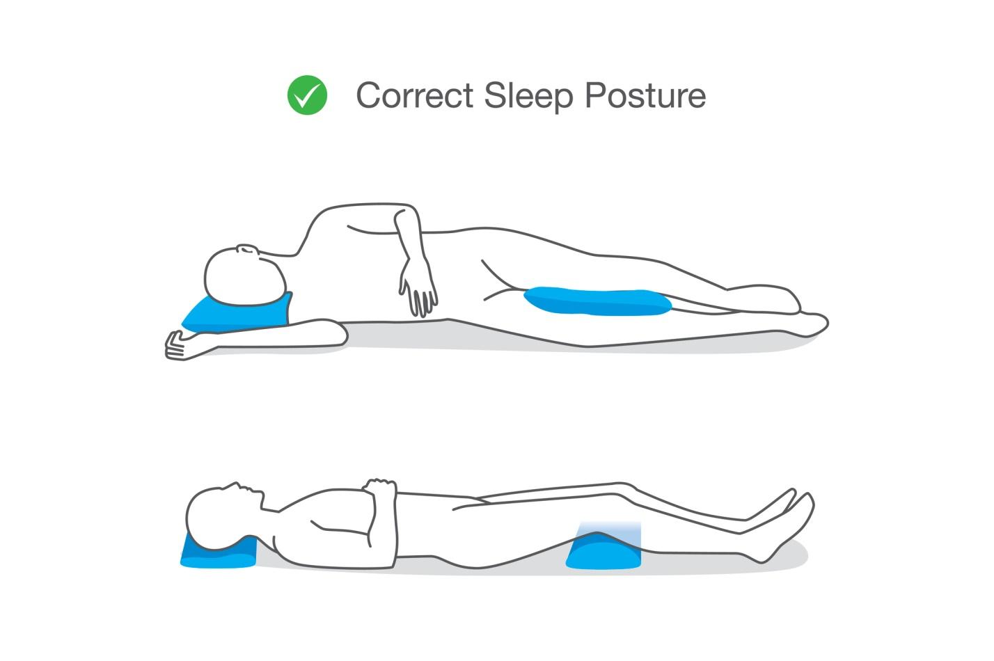 sleep well - spine health